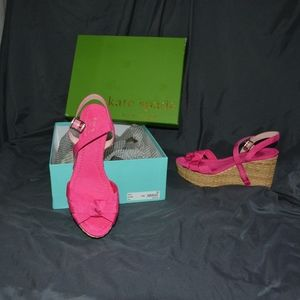 Kate Spade Tilly Pink size 9 with box